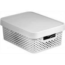 INFINITY DOTS box 11L - bílý