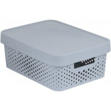 INFINITY DOTS box 11L - šedý