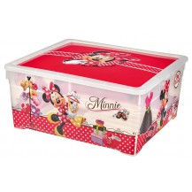 TEXTILE BOX - 18,5L - MINNIE