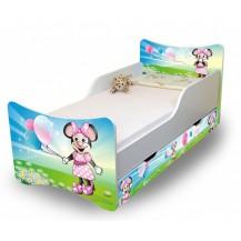 Dětská postel a šuplík/y Myška s balónkem