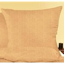Povlak na polštářek krep 40x40cm-zip (béžové)