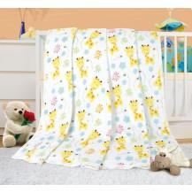 Dětská deka - žirafky 100x155 cm
