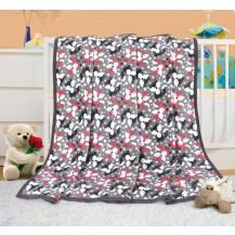 Dětská deka - lištičky 100x155 cm