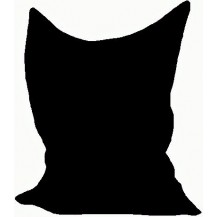 Sedací vak/pytel Klasik 120 x 160 x 25cm (černá)