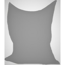 Sedací vak/pytel Klasik 120 x 160 x 25cm (šedá)