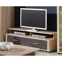TV stolek Fill R5 sonoma/grafit lesk