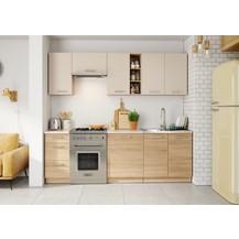 Kuchyně Lena 240 písek/sonoma