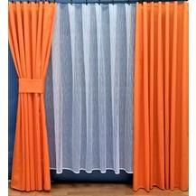 Závěs Orlando oranžový - výška 280/ šířka 150cm