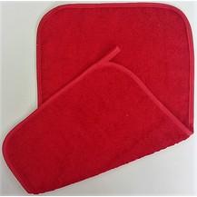 Froté ručník červený 30x50cm 450g