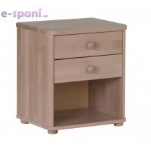 Noční stolek Robin, buk HP nábytek 059B