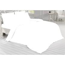Povlečení Satén 140x200, 70x90cm bílá, Výběr zapínání: zipový uzávěr