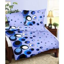 Povlaky flanel Ornela modrá skladem 9 ks, Výběr rozměru: 45x60