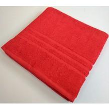 Froté ručník  jednobarevný 400g 50x100 cm (červená)