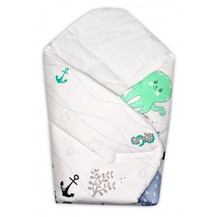 Novorozenecká zavinovačka OCEÁN Baby Nellys - zelený
