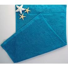 Dětský ručník froté 30x50 cm azurově modrá