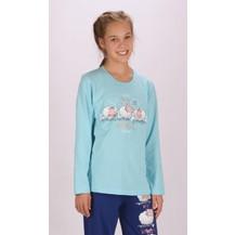 Dětské pyžamo dlouhé Ovečky