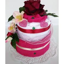 Textilní dort dvoupatrový 1X