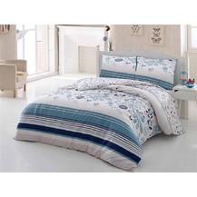Bavlněný povlak na polštář Pamela modrá Skladem 4ks, Výběr rozměru: 40x40