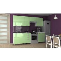 Kuchyňská linka Korry RLG 180/240 zelený lesk