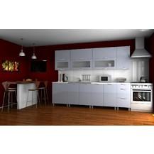 Kuchyňská linka Saleri KRF 260 šedý lesk