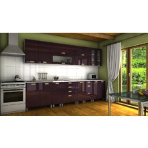 Kuchyňská linka Granada MDR 300 fialový lesk