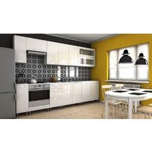 Kuchyňská linka Biodera KRF 300 bílý lesk