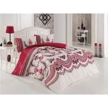 Přehoz přes postel jednolůžkový Naomi vínová, Výběr rozměru: 140x220cm
