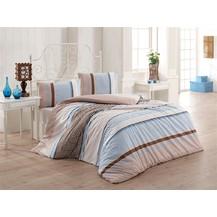 Přehoz přes postel dvoulůžkový Penelopa béžovomodrá, Výběr rozměru: 240x220cm