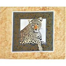 Bavlněný povlak na polštář 70x90 cm gepard