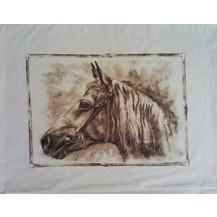 Bavlněný povlak na polštář 70x90 cm kůň