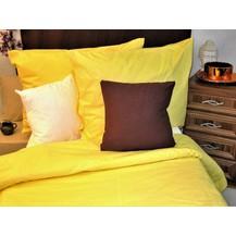 Přehoz na postel bavlna140x200 žlutý