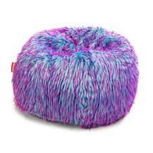 Sedací pytel Shaggy Multicolor pink-violet-blue
