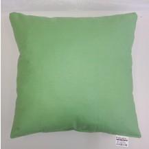 Polštářek zelený 40x40cm bavlněný