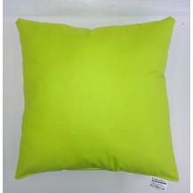 Polštářek žlutozelený 40x40cm bavlněný