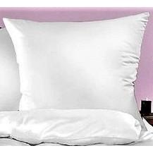 Bílý povlak z viskózy a polyesteru 70x90cm bílý  HOTELOVÝ uzávěr