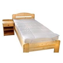 Chránič matrace prošitý s výplní dutého vlákna 90x220cm