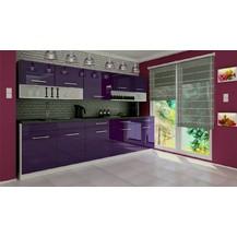 Kuchyňská linka Devil 260 fialový lesk