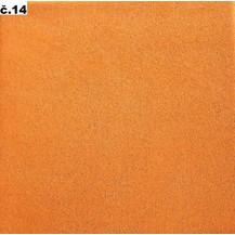Froté povlečení  dětské 45x64 90x130 (č.14-broskvová)