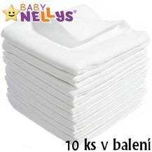 Kvalitní bavlněné pleny Baby Nellys - TETRA BASIC 70x80cm, 10ks v bal.