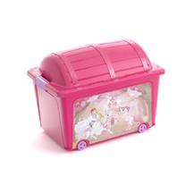 KIS W box - truhla růžová