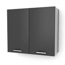 Kuchyňská skříňka Natanya G802D bílý lesk