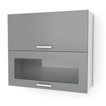 Kuchyňská skříňka Natanya KL601D1W šedý lesk