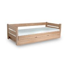 Dřevěná postel Dreamer 120x200 buk