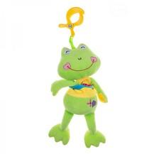 Plyšová hračka s melodii a klipem - Žabka