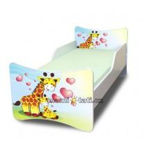 Dětská postel Žirafky