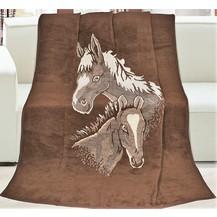 Deka Karmela Plus 150x200 cm, koně
