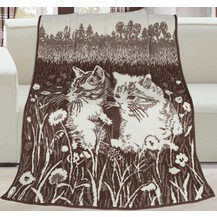 Deka Karmela Plus 150x200 cm, koťata