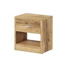 Noční stolek Izzy 1s dub wotan