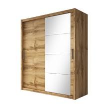Skříň se zrcadlem Niobe 180 dub wotan