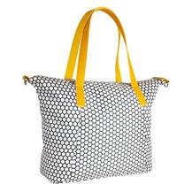 Přebalovací taška ke kočárku - modrá/plaster
